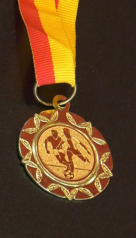Maciej Joniuk – medal za osiągnięcia piłkarskie