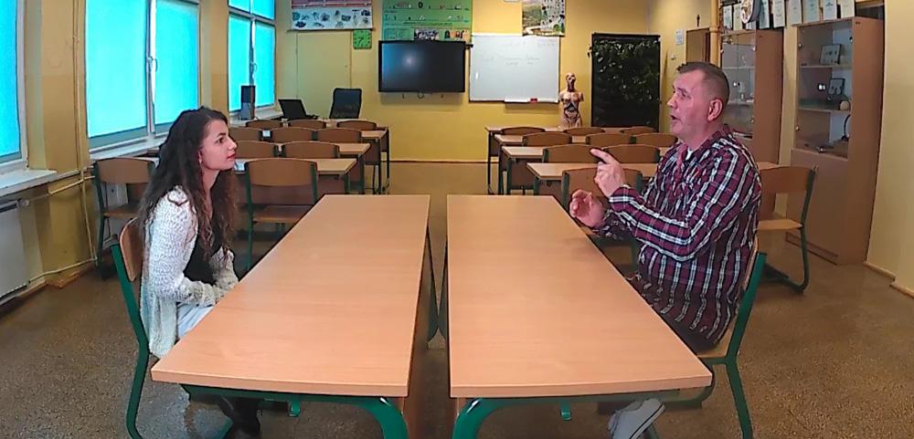 Szkoła dla niesłyszących i słabosłyszących, Joanna Huczyńska i Piotr Płosa