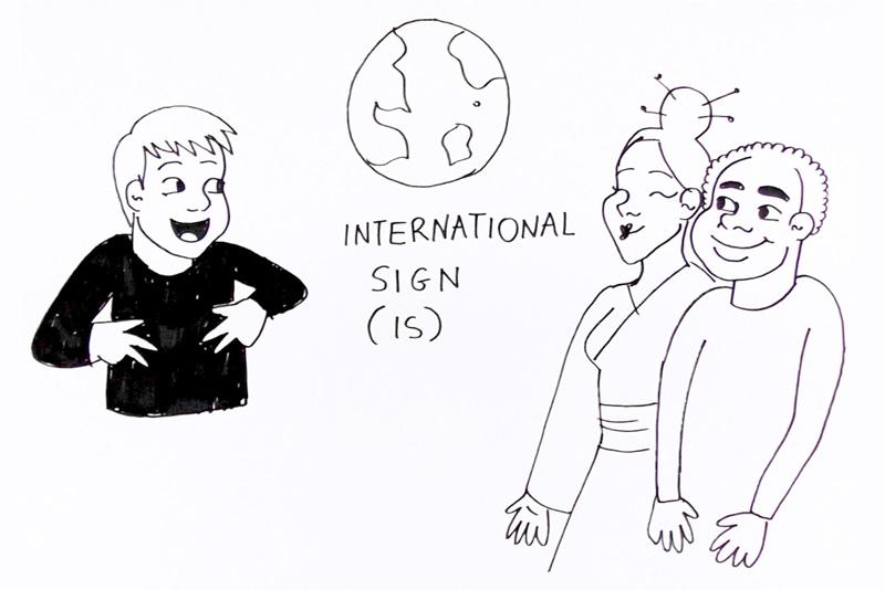 Fundacja Świat Głuchych. Tłumaczenie na międzynarodowy język migowy International Sign IS