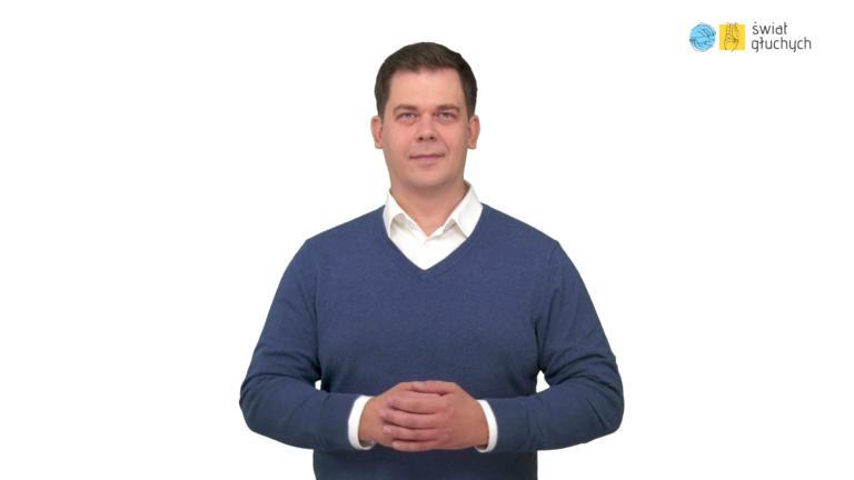 Tomasz Smakowski zaprasza na stronę internatową Świat Głuchych pl