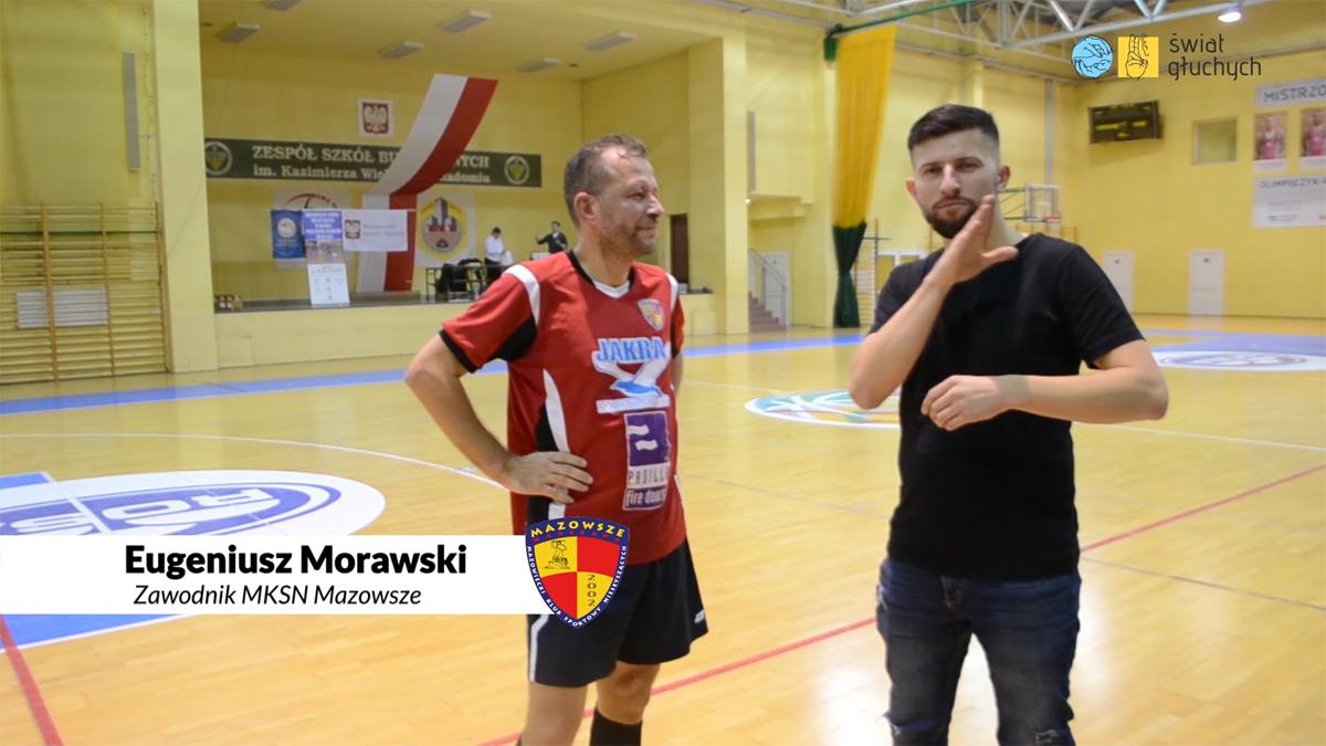 Eugeniusz Morawski, członek zarządu MKSN Mazowsze