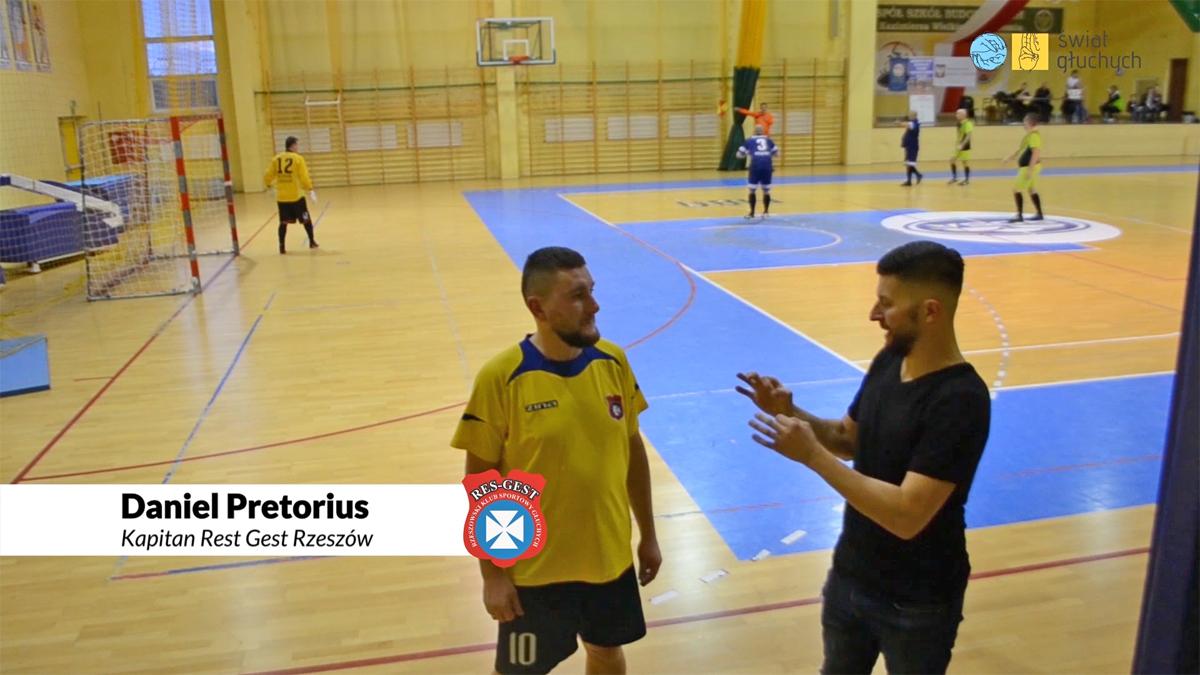 Rozmowa z Danielem Pretoriusem, kapitanem drużyny Rest Gest Rzeszów