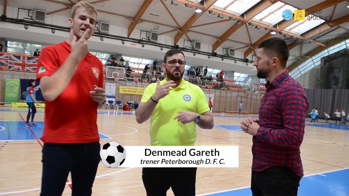 Deaf Champions League — Liga Mistrzów Głuchych, Warszawa, październik 2019