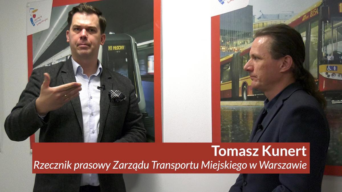 Rozmowa z rzecznikiem prasowym ZTM o bezpłatnej komunikacji miejskiej w Warszawie dla osób niepełnosprawnych