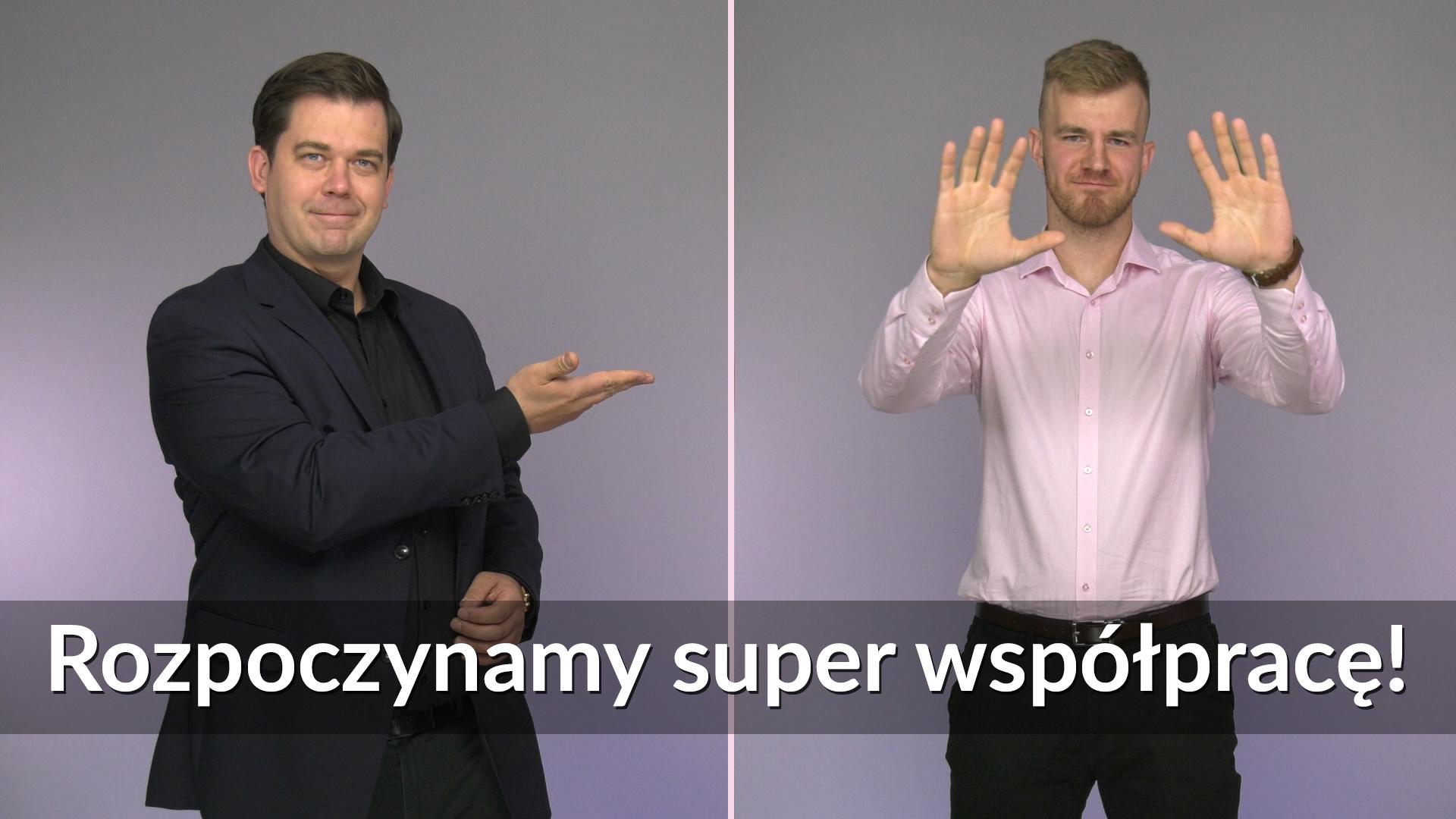 współpraca: Tomasz smakowski, Świat Głuchych, Tomasz Morawski, MKSN