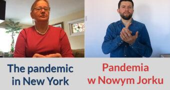 Pandemia w Nowym Jorku