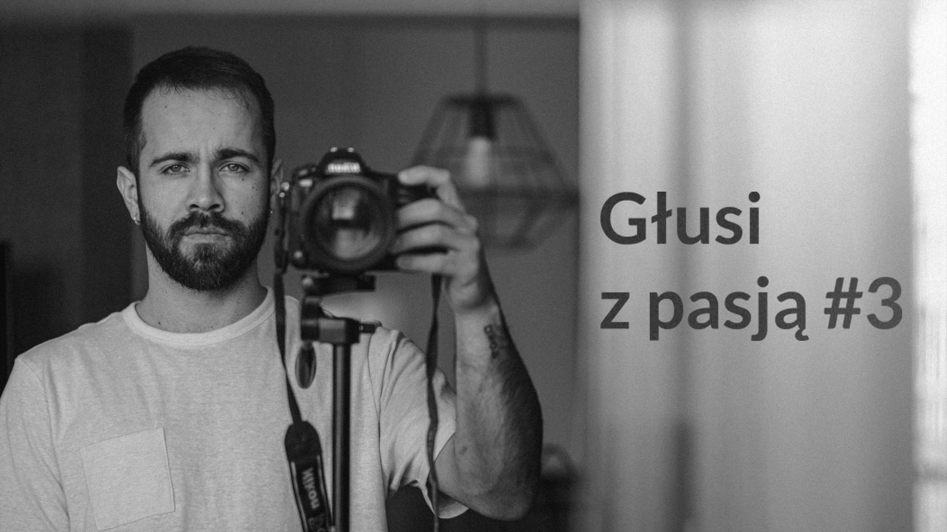 Głusi z pasją #3 — Damian Brzeszcz