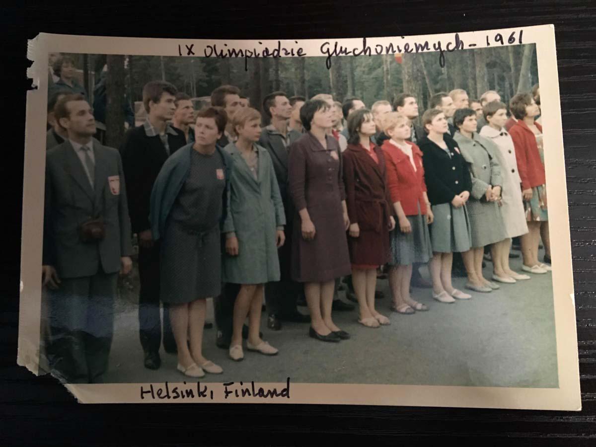 Józefa Muszyński-Czerwińska — IX Olimpiada Głuchoniemych, Helsinki, Finland, 1961
