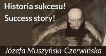 Józefa Muszyński-Czerwińska - historia kariery sportowej pływaczki, mistrzyni olimpijskiej