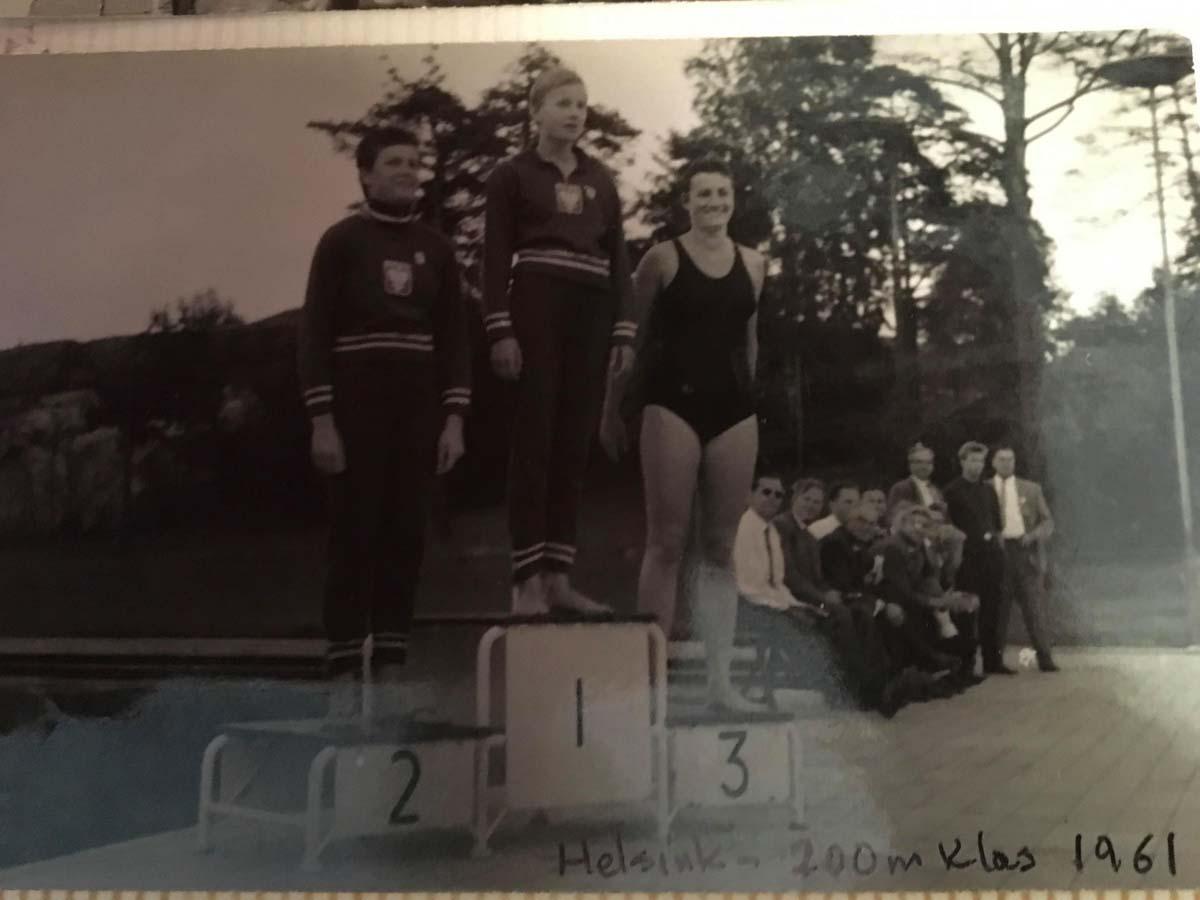 Józefa Muszyński-Czerwińska — 200 m, klas, 1961, IX Olimpiada Głuchoniemych, Helsinki, Finland, 1961
