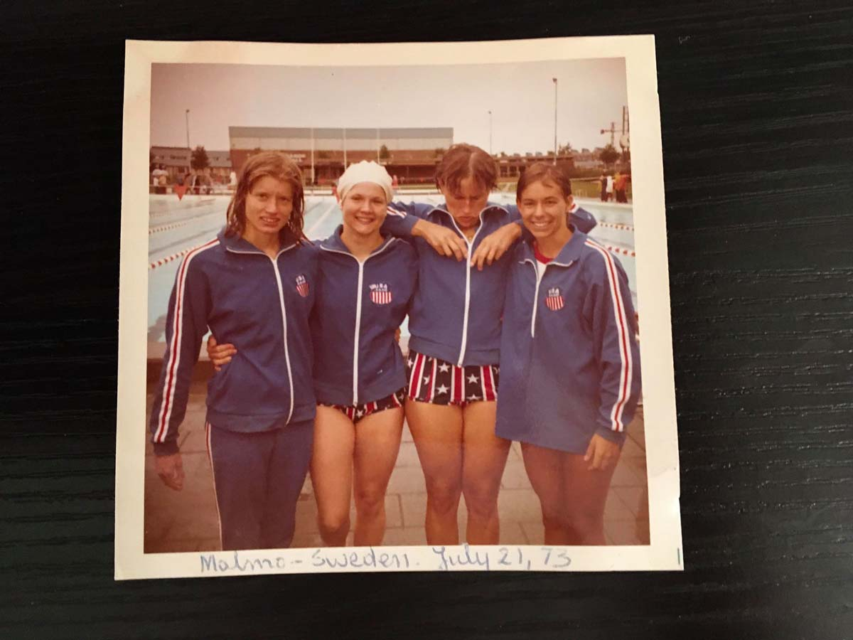 Józefa Muszyński-Czerwińska — Malmo, Sweden, July 21, 1976