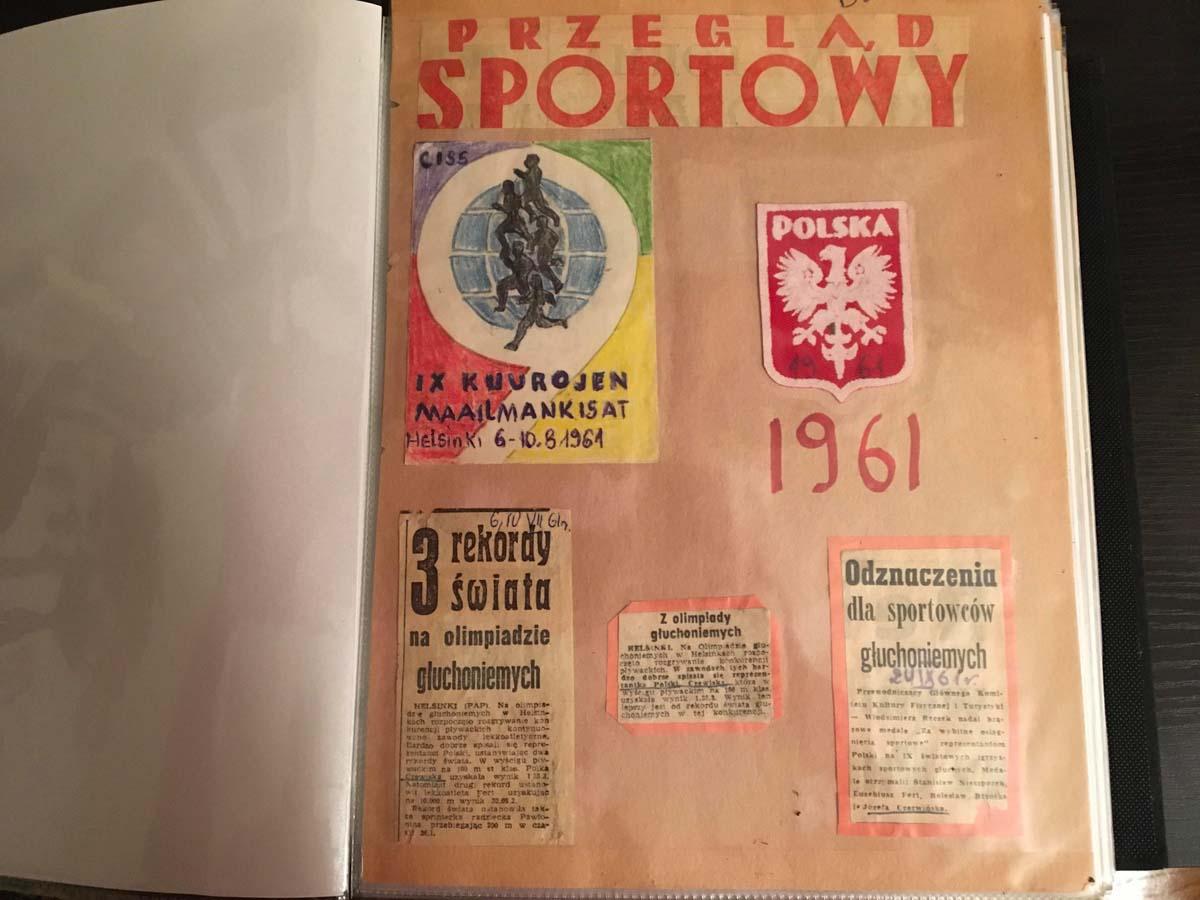 Józefa Muszyński-Czerwińska — Przegląd sportowy 1961, IX Kuurojen Maalmankisat