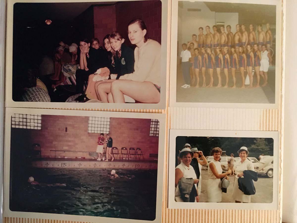 Józefa Muszyński-Czerwińska — zdjęcia z terningów na pływalni