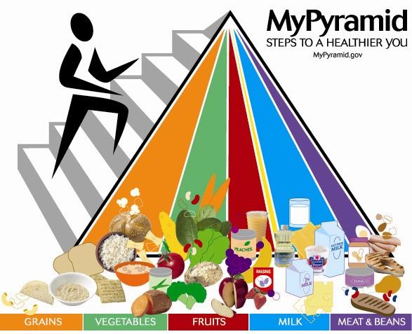piramida zywienia, MyPiramid