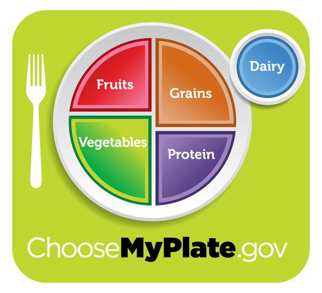 Piramida żywienia, My Plate