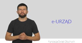 Co to jest e-urząd? Wyjaśnienie w języku migowym