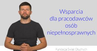 grafika, po lewej zdjęcie Michała Joniuka, po prawej napis: