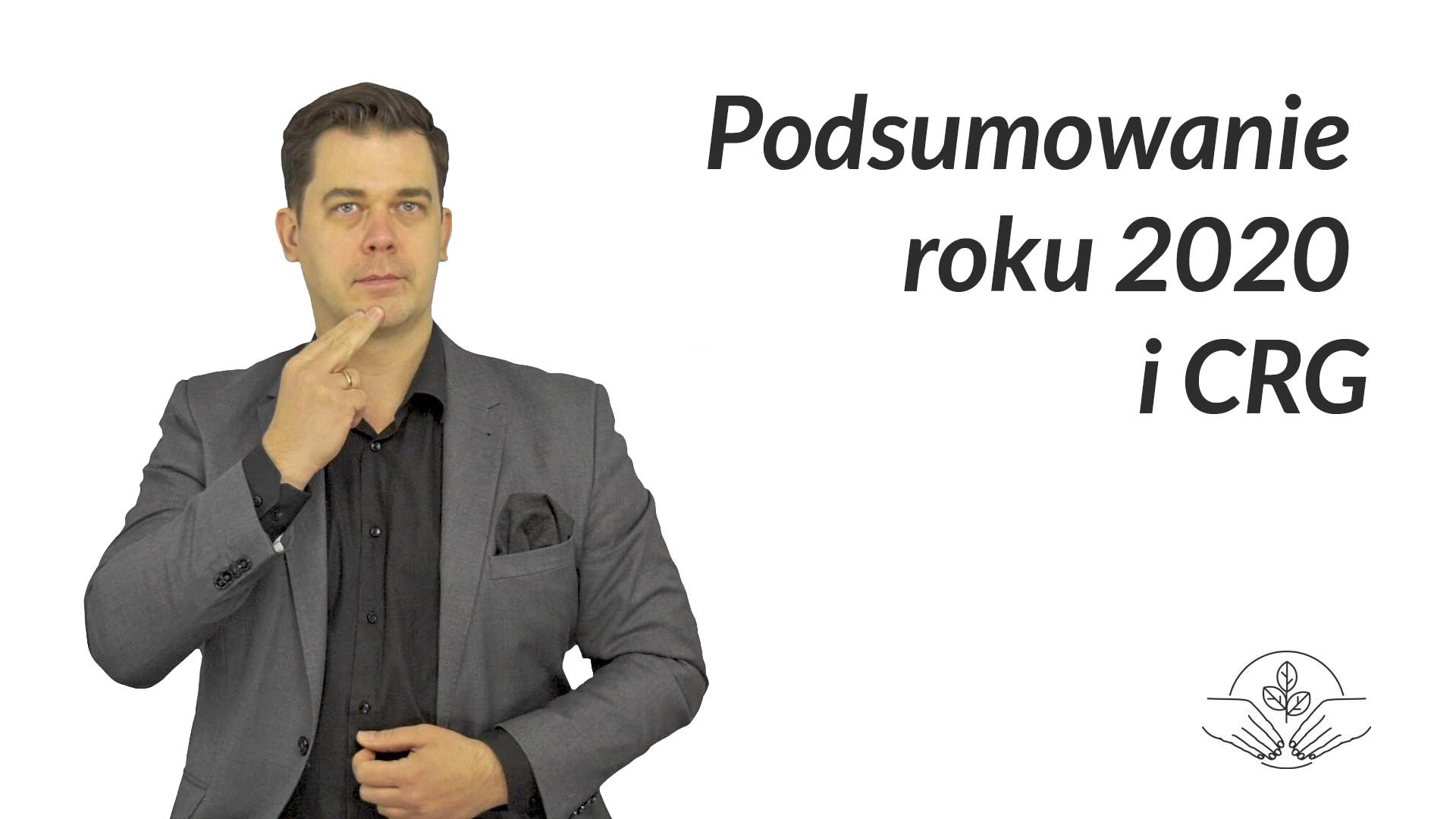 grafika, po lewej tłumacz języka migowego, Tomasz Smakowski, po prawej napis: