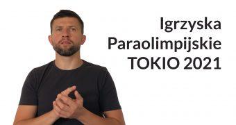 Miniaturka do filmu w polskim języku migowym. Na grafice Maciej Joniuk oraz napi: